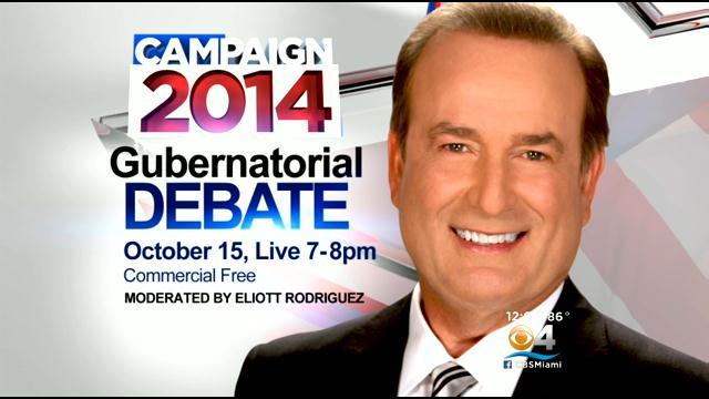 Elliott Rodriguez, WFOR CBS 4 Miami news anchor to moderate Florida Gubernatorial Debate