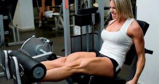 Fernanda- extensão de pernas