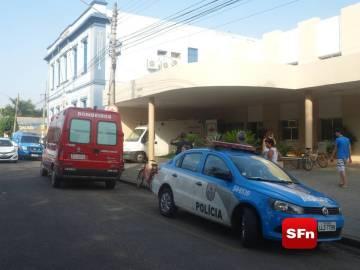 hospital bombeiro polícia