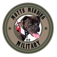 "Mutts Mending Military provides Veterans and Civilians with PTSD the healing companionship of a dog. ""With help comes hope"""
