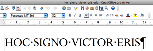 Showing hidden characters in OpenOffice Writer
