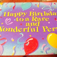 An old birthday card- #memories