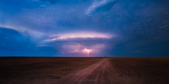 Lightning Great Plains