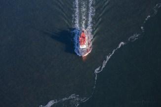 Boat Aerial San Francisco