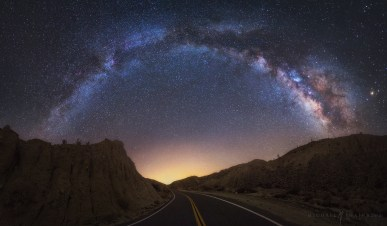 Milky Way Road Anza Borrego California