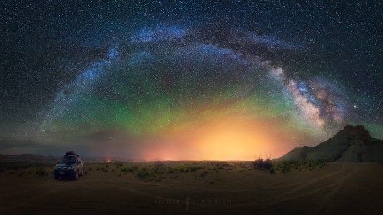 Milky Way Night Sky Adventure Arizona