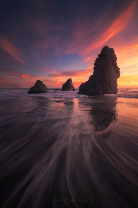 Rodeo Beach Ocean Sunset