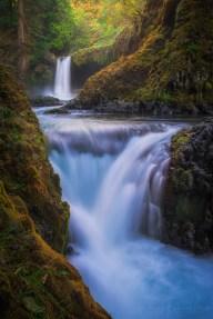 Spirit Falls Waterfall Washington