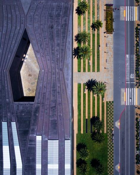 de young san francisco aerial photography
