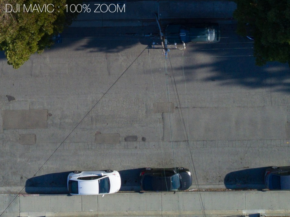 Dji Mavic vs Phantom 4 RAW Image Test