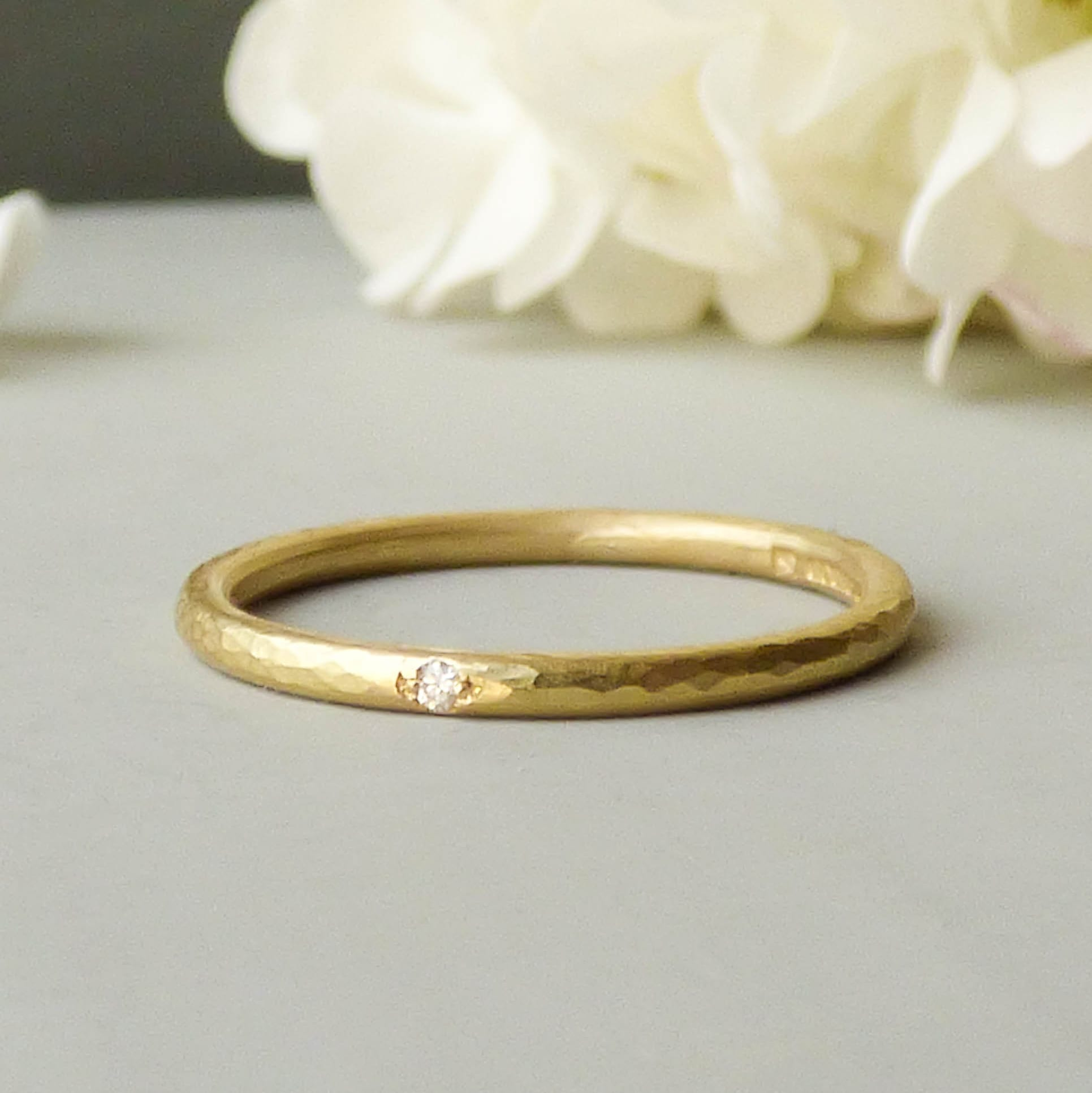 ethical wedding rings harley davidson wedding rings Coco Ethical Wedding Ring In 18ct Fairtrade Gold Shakti Ellenwood