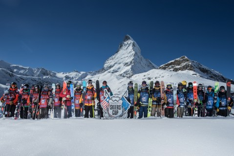The best skiers on the planet were in Zermatt for the 5th edition of the Skiers Cup !  I did this teaser.