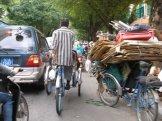 Traffic jam, for real.