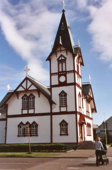 Húsavik's church