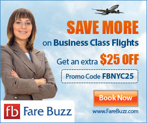 Business Class Flights from Fare Buzz