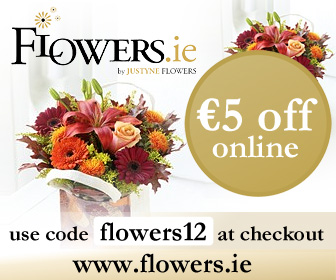 Flower Delivery Ireland €5 Off