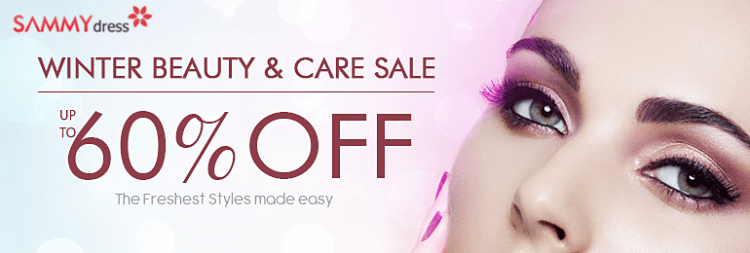 UP to 60% OFF for Beauty Care Accessories!