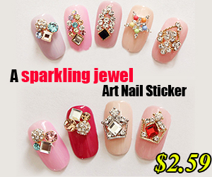 Gemstone Nail Art Sticker