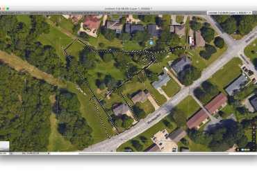 Photoshop Plat on Satellite Image