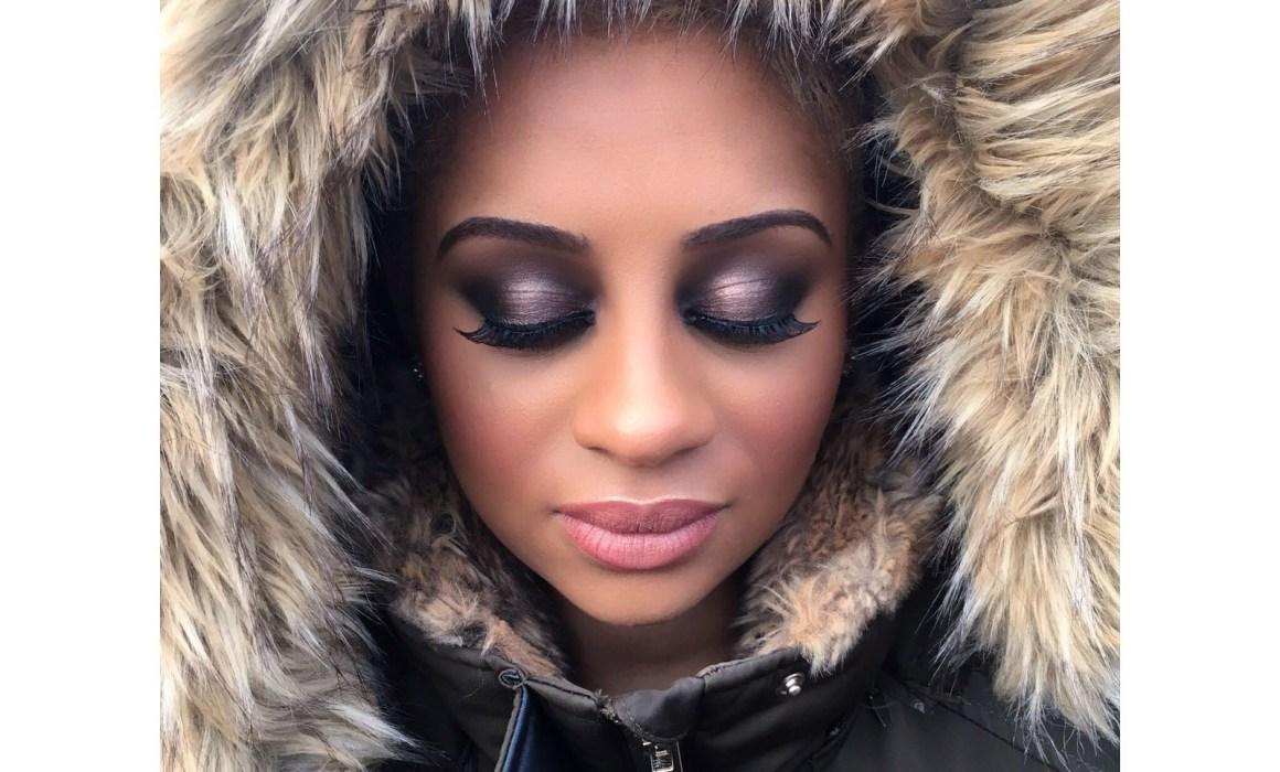 Makeup look 1 for Rebecca