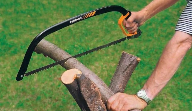 how to use a bow saw