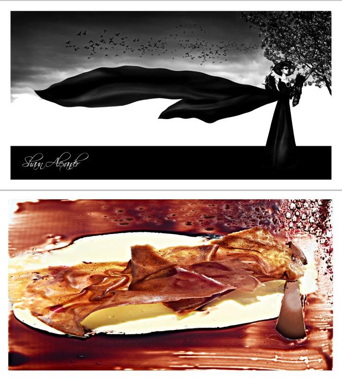 Shaun Alexander and Chef Christian Fashion dinning