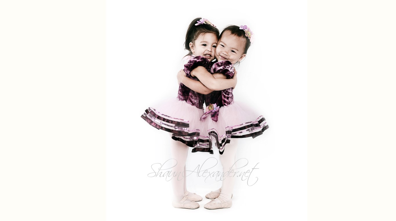 dance school photography ballerina kids