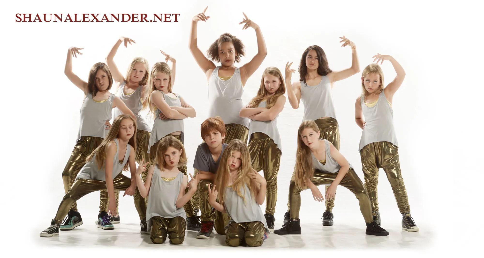 Creative phoos of young dancers by Dance photographer Shaun Alexander studios