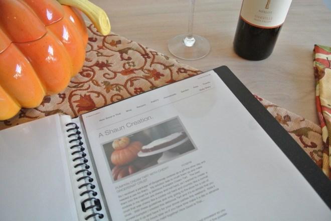 bible recipe page