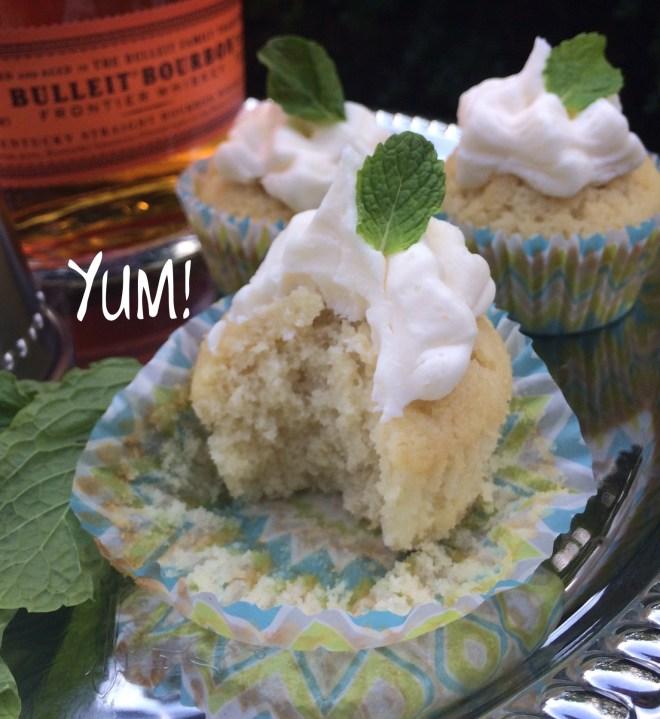 Mint Julep Cupcake Yum
