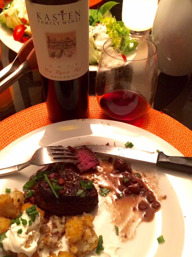 Steak Wine Pairing Dinner