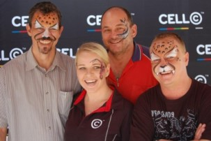 <--- CellC Shavathon 2012 - In Memory of Paul Rambarun who passed away a week before from cancer...