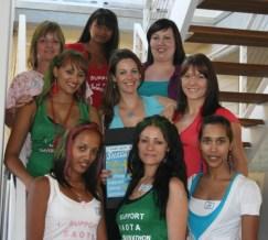 SAOTA CANSA SHAVATHON 2012 team