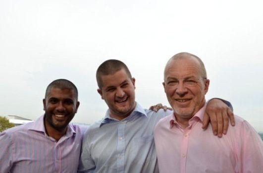 Team IPG Gustav Fichardt, Rahsad Ismail and Luke Choate