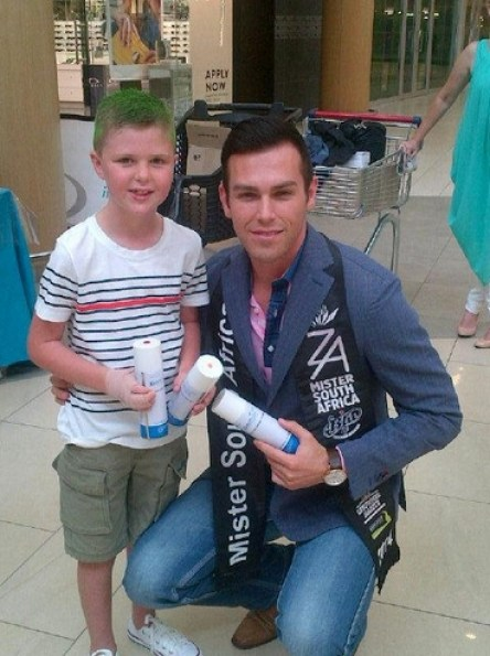 Mr SA Armand du Plessis at Cradlestone mall