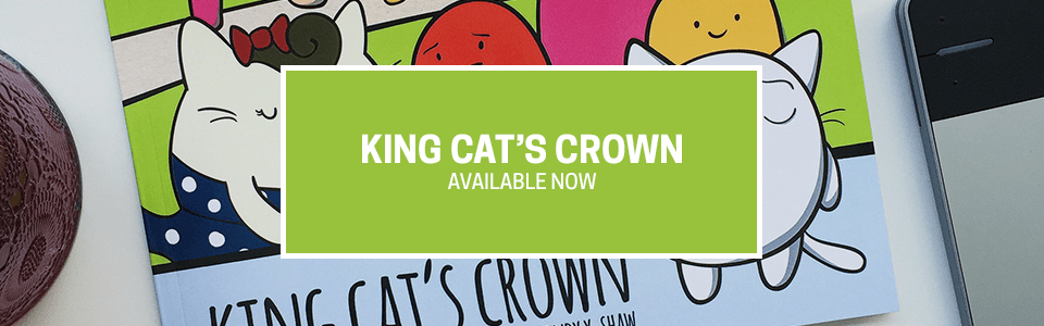King Cat's Crown - #MrRedBooks - Available here and on Amazon