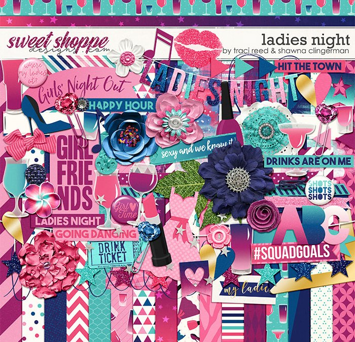Ladies Night and Color Me Alpha New Releases