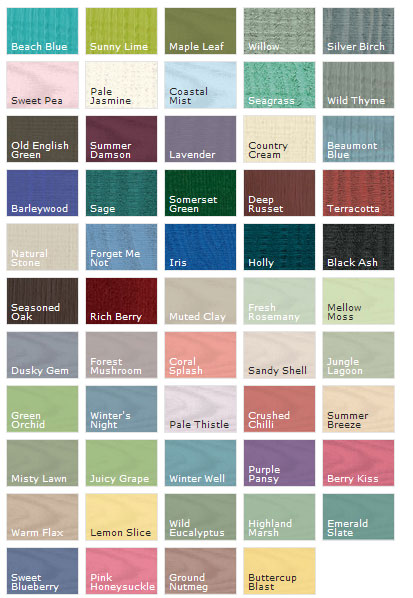 Shed Week Sponsors Cuprinol Have Really Got A Shed Load Of New Colours To Paint Yours Shedblog