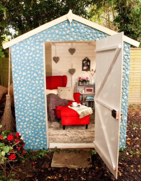Britain's shabbiest shed gets a chic makeover