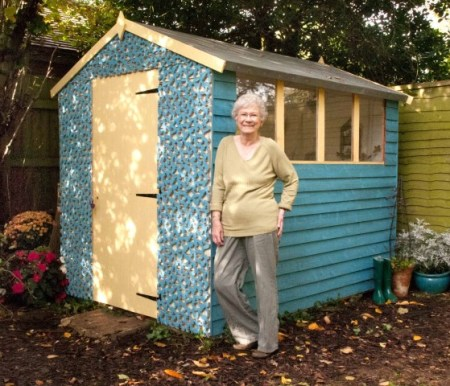 Britain's shabbiest shed gets a chic makeover courtesy of fashio