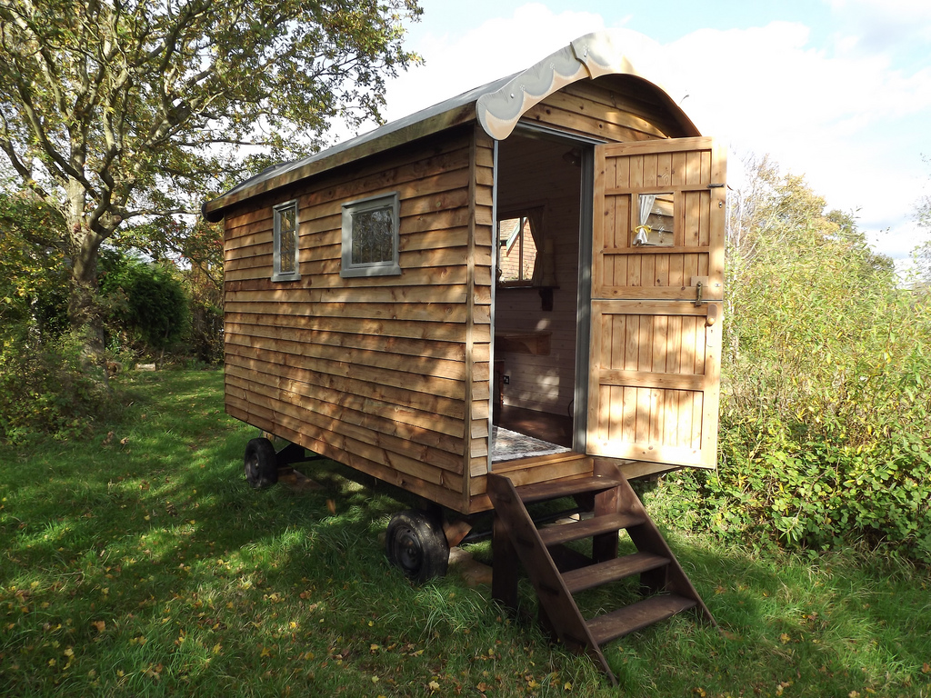 Shepherd huts - Posh sheds on wheels or the future of shedism