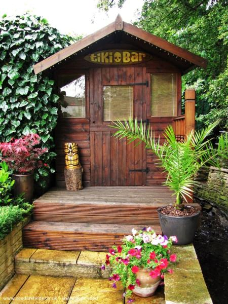 Now that summer is over - think about a cold drink in a faraway shed