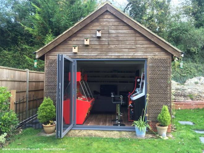 What one feature do you wish your shed had?
