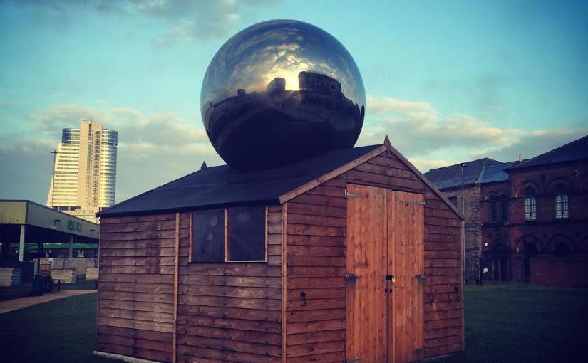For all your giant ball on shed needs