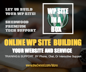 WP Site In A Box - Let Us Build Your WordPress Website: