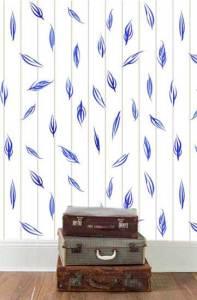 First design idea, mock up, feathers. © 214 Sheila Delgado