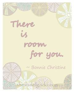 There is room for you free printable