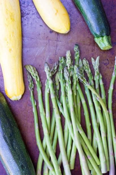 Grilled Vegetable Summer Pasta Salad with a Basil & Roasted Garlic Vinaigrette -9213