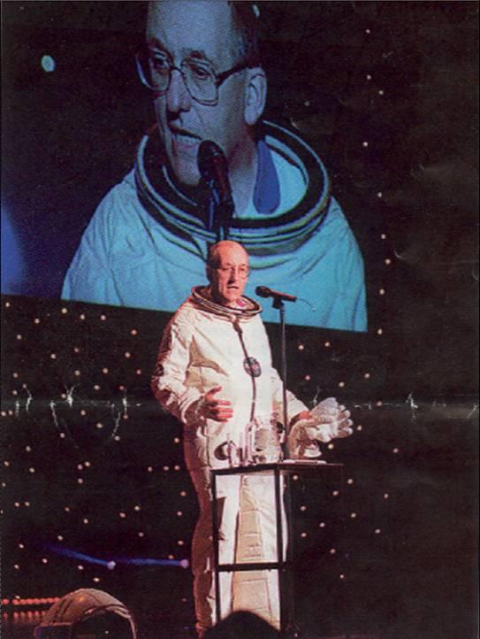 Sir Philip Watts, Royal Dutch Shell Spaceman