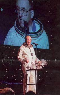 Sir Philip Watts spaceman